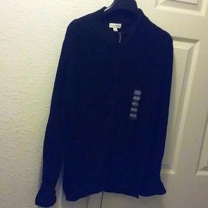 Ladies Zippered Sweater